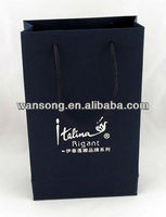 best price custom small gift paper bags, luxury paper shopping bag with handle