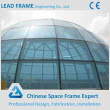 Light Steel Frame Skylight Dome Type Glass Roof