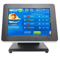 Black Red Color 12 Inch Pos Terminal Point of Sale J1900 Processor
