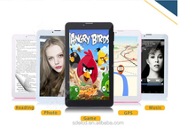 unlocked android4.4 dual core dual sim 8GB 7 inch mobile phone HD phablet 3G oem SDE Shenzhen