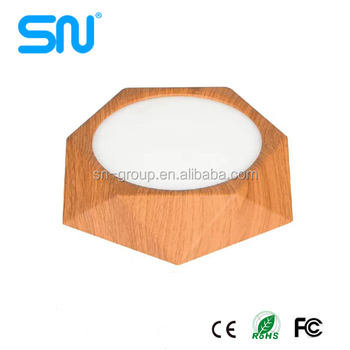 2017 New products 6w 12w 18w 24w Diamond Surface mounted led panel light round with CE ROSH