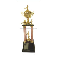Sports metal trophy high grade trophy flying pigeon trophy