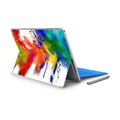 Precise cut adhesive vinyl laptop skins watercolor protective vinyl decal stickers wraps for microsoft surface pro 4