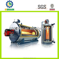 vertical gas fired organic heat oil boilers