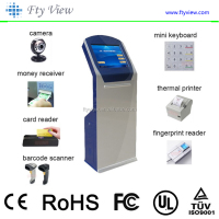 Touch Screen Self-service Terminal Kiosk/ Ticket Vending Machine Kiosk/bill payment machine