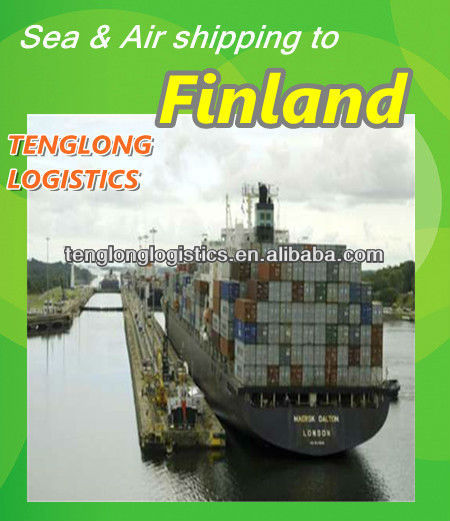 sea freight lead time to Helsinki/ Kotka/ Hamina of Finland from Guangzhou Zhongshan Hongkong