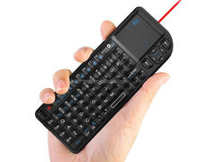 Quality best wireless mini keyboard Touch pad mouse Backlit Combo for Tv box