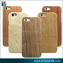 100% real natural wooden mobile phone case for iphone 6 6s