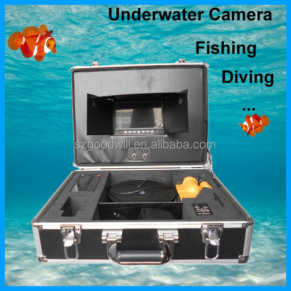 Stainless Steel Lens 40M Underwater Inspection Camera/Pipe And Wall Inspection
