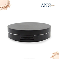 ANC private label highlighter silky high quality compact powder case plastic .Wholesale cosmetics empty low price