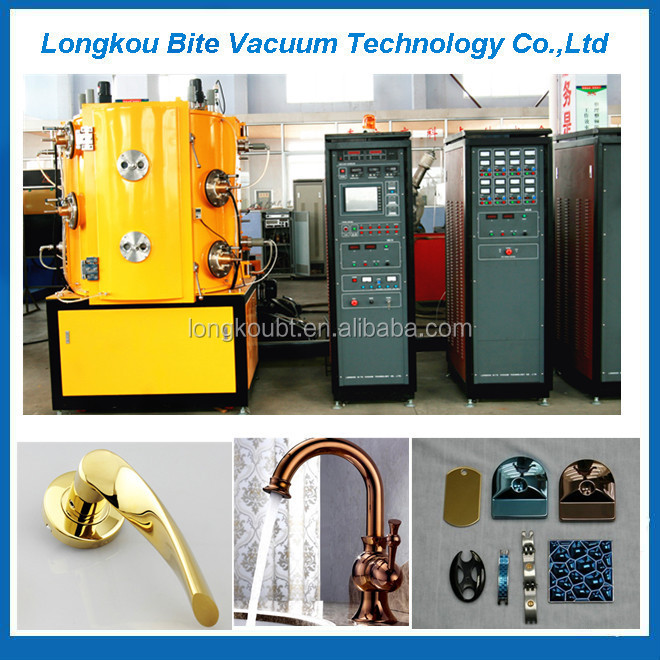 TiN titanium nitride coating equipment / titanium gold vacuum coating machine
