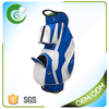 Custom PU Leather Golf Cart Bag With Club Holders