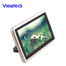 "Universal Touch-Screen 10.1"" Tablet-Style Clip-On Headrest DVD Player/Screen with USB/SD and Wireless Infrared Headphones"