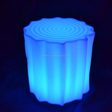 high quality rgb color led light funny bar stool