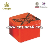 Decorative pocket ashtrays eco-friendly ash tin box