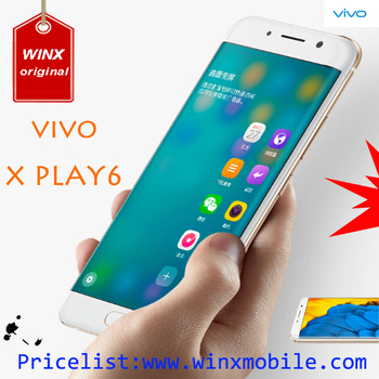 New product!! 8 sim mobile phone 5.46 inch vivo xplay 6 Snapdragon 820 6GB RAM 128GB ROM gold/pink 4g mobile phone