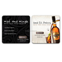 quality brand oem made imprint cork coaster for promotion