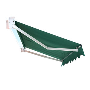 Cheap Price Promotion Patio Sunshade Waterproof Iron Retractable Awning