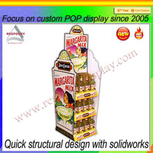fruit drink Display/retail Store Display Racks/Store drin k Display