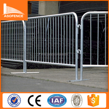 metal pedestrian security road crowd control barrier gate
