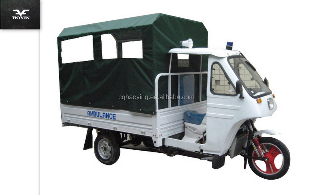 Tuk Tuk 200cc Ambulance Manufacturer Cheap Three Wheel Motorcycle (Item No:HY200ZK-4)