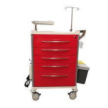 Low price emergency crash cart checklist with customized accessories