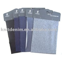 Organic knitted denim Fabric