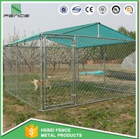 outdoor chain link big animal cage /european style outdoor dog kennel