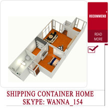 Luxury modern villas container, nice tiny style prefabricated villas houses, convenient container villas