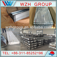 galvanized sheet metal roofing cheap price, (gi corrugated steel sheet, zinc coating 60g/m2-275g/m2)