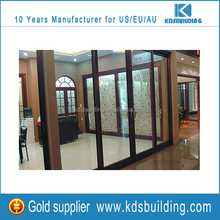 Good thermal break large aluminum and glass lifting sliding exterior house doors