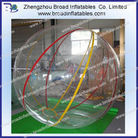 2m plastic 1mm pvc walmat hopper ball