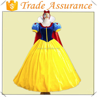 Cosplay Snow White Princess Dress With Headband