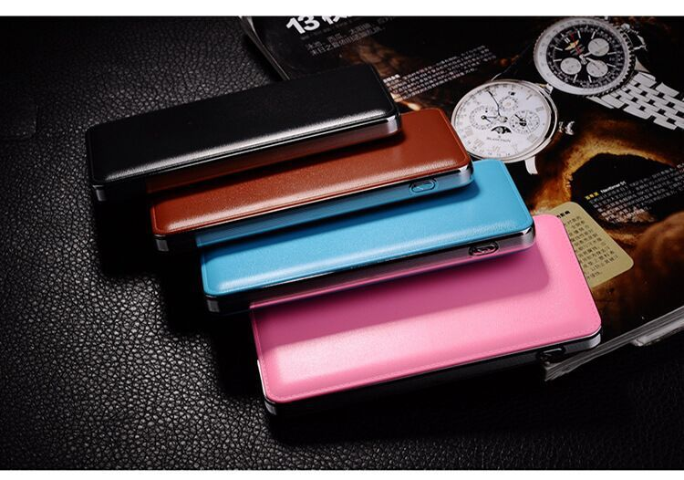 High capacity real mah shenzhen power bank supplier 10000mah external mobile battery charger dual usb and indicators power pack