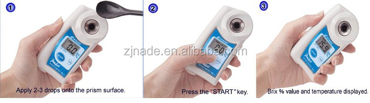 Nade Portable Digital refractometer or polarimeter (Atago brix refractometer) PAL-1