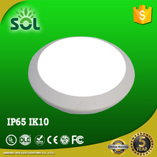 IP65 waterproof IK10 anti-shock outdoor led ceiling light for the porch