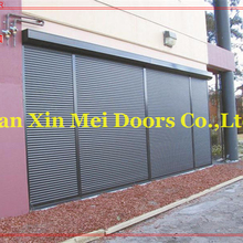 Industrial Remote Control Steel Rolling Shutter Doors with Slat