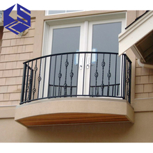 Modern stainless steel grill cement balcony railing designs