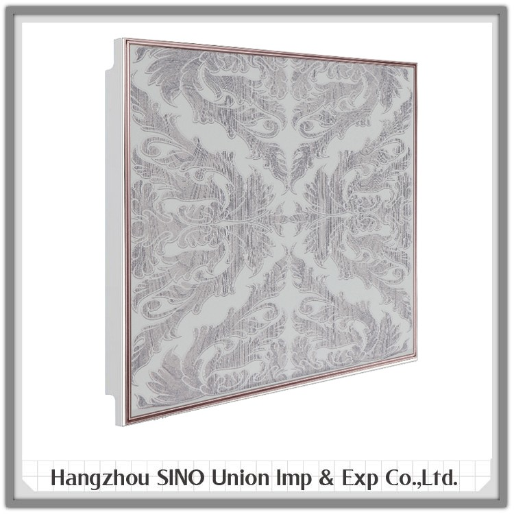 decorative metal ceiling tile board moulding