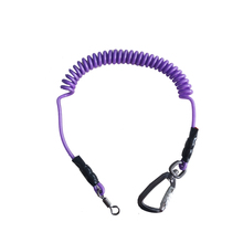 Different typre and color Safety Lanyard Spring Coil Rope