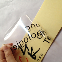 Transparent Stickers Custom Vinyl Printing