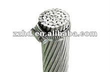 ACSR dog bare conductor with ASTM standard many sizes types cable wire raven sparrow AAC AAAC ACSR