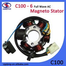 C100 100cc motorcycle engine parts Chinese motorcycles Magneto coil with ignition coil for Thailand honda motorcycle