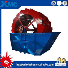 Wheel bucket sand washer with high quality and good price, sand washing machine, cheao sand washer