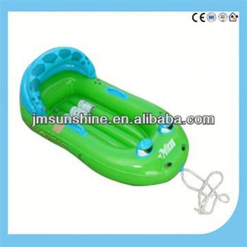 pvc inflatable plastic baby boat