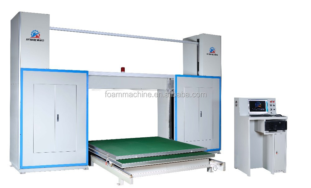 Ring shaped CNC foam cutting machine( Horizontal)