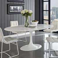 Top sale italian dining table artificial marble table top eero saarinen tulip table