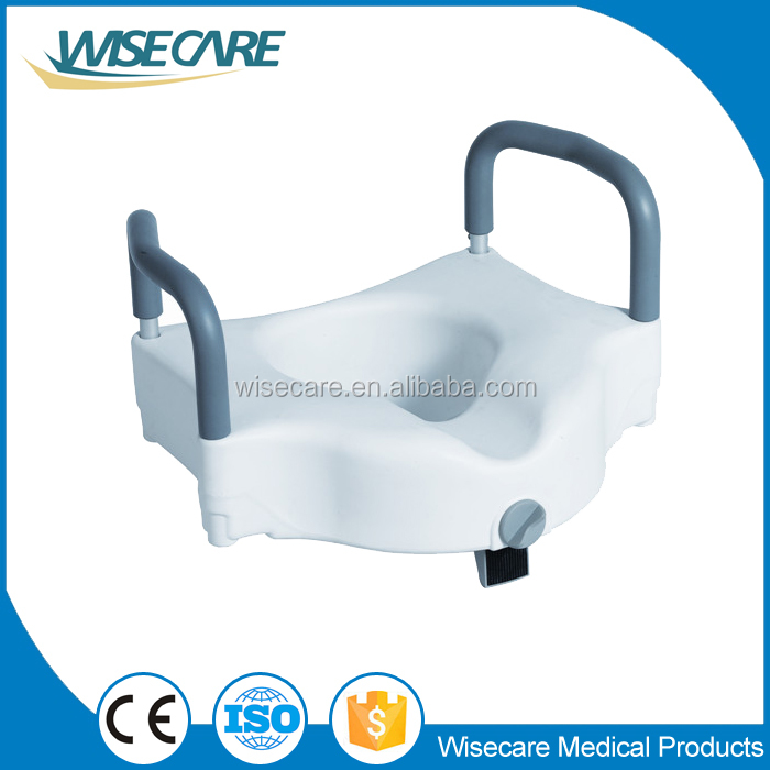 Raise Toilet Seat with Armrest Toilet Chair for Older Home Use elderly care products