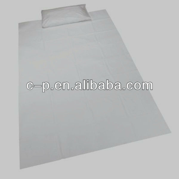 Disposable house used Pillowslip with needle-pouched nonwoven made in China