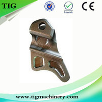 Customized Precision lost wax casting cast iron truck spare parts for Sale